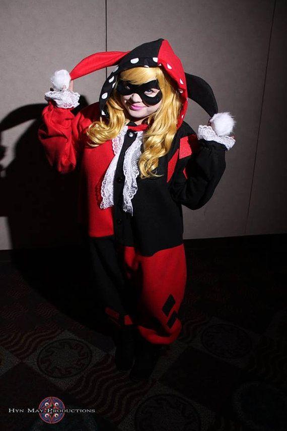 b404a6971484 Harley Quinn Kigurumi by ChixTrends on Etsy