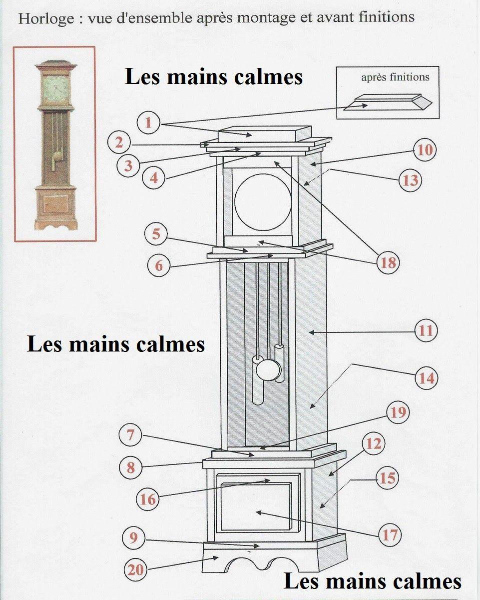 dollhouse furniture plans. Les Mains Calmes: Plans Horloge Pendola. Miniature FurnitureDollhouse Dollhouse Furniture 0