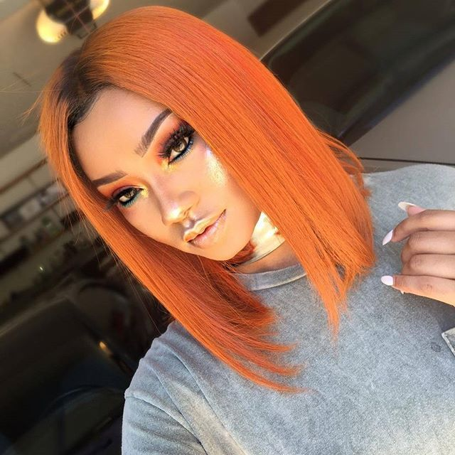 Cheap Colored Lace Front Wigs