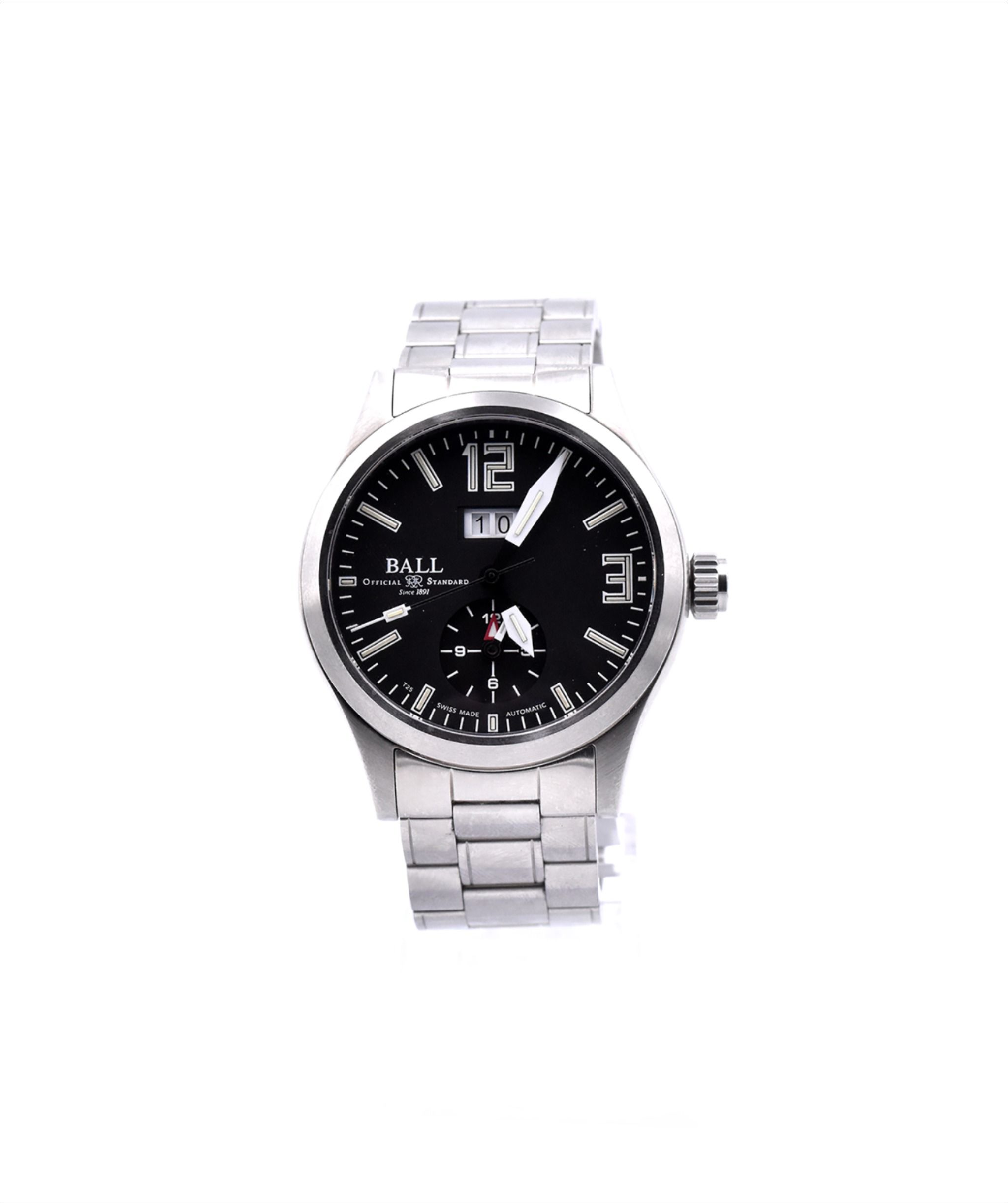 Ball Stainless Steel Engineer Master Ii Voyager Automatic 546 17 Watches From The Estate Watch Jewelry Company Scottsdale Az Stainless Steel Case Stainless Steel Automatic