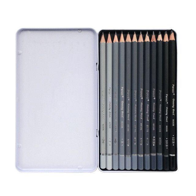 Professional Sketching Pencils in 2019   bored   Art pencil set, Art