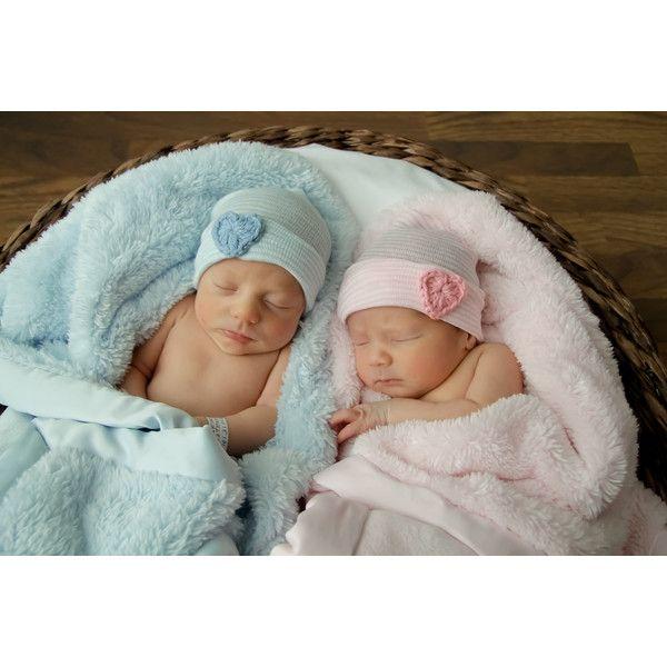Twin baby hat twin newborn hat twin hospital hat twin hat twins