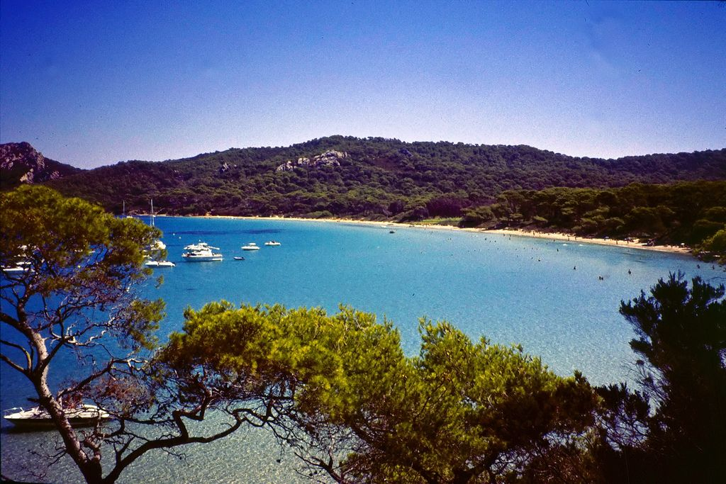 Porquerolles is the biggest of the three islands in de Provence-Alpes-Côte d'Azur_ France