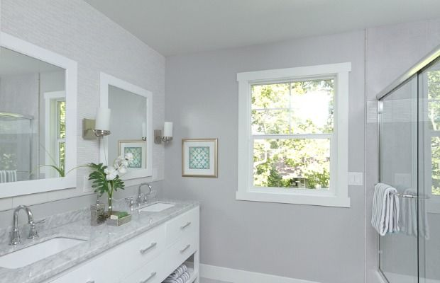 Best paint colors on pinterest revere pewter interior - Best light gray paint color for bathroom ...