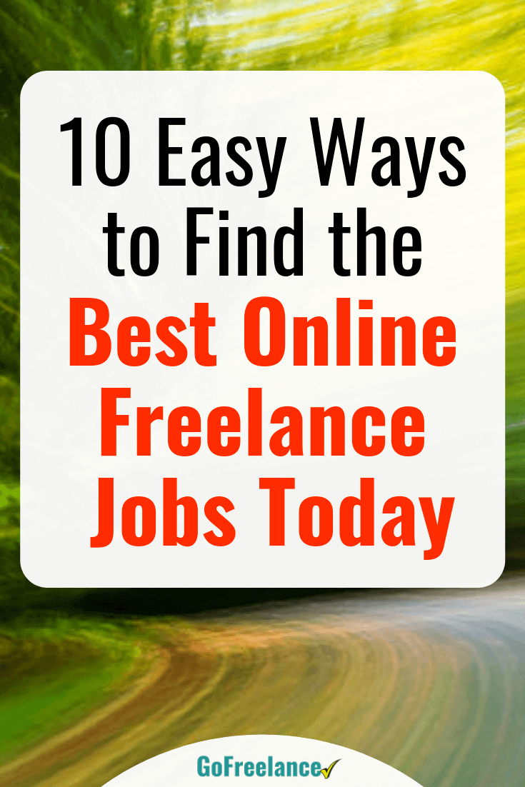 Freelancing Offers An Enviable Lifestyle Working From Home And Making Great Money Here S How To Find The Best Freelance Jobs Online Fast Freelancing Jobs Writing Jobs Online Jobs