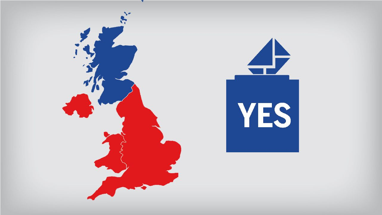 French newspaper Le Monde created a video that examines how the the September 18th, 2014 vote on Scottish independence might impact the United Kingdom. The list includes the removal of the blue seg...