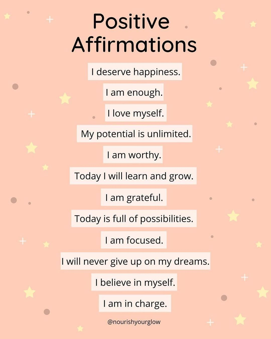 Positive Affirmations Daily Motivation Affirmations