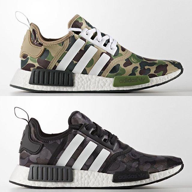 half off 1e541 a61ea Chubster favourite ! - Coup de c ur du Chubster ! - shoes for men - chaussures  pour homme - sneakers - boots - BAPE x adidas NMD R1