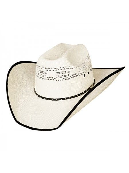BEER TIME Justin Moore Collection From Bullhide Bangora Straw Cowboy Hat