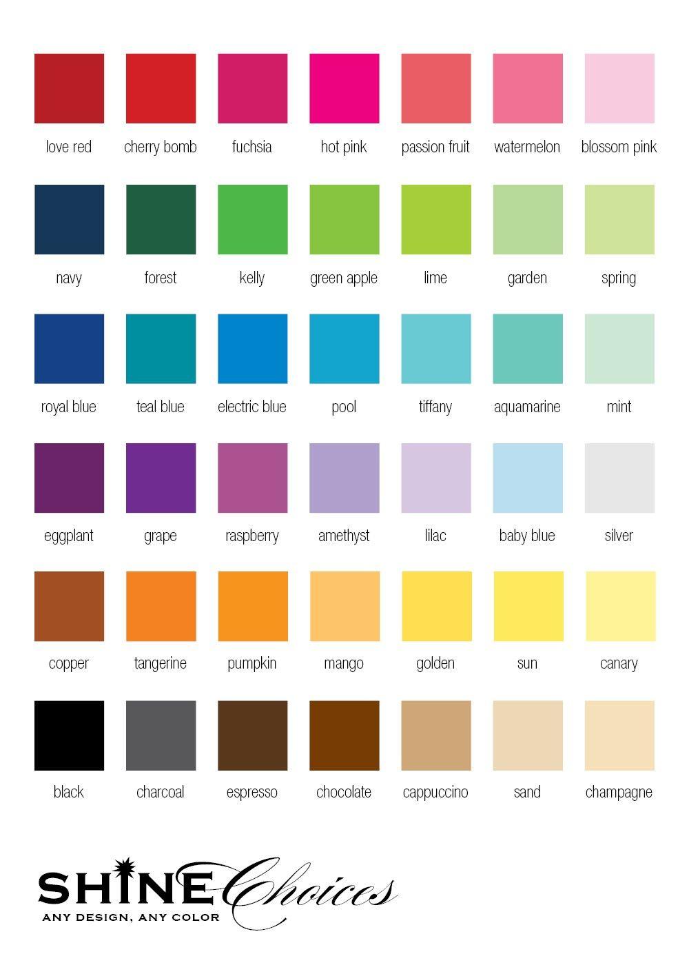 Elastomeric Paint Color Wheel