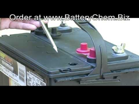 How to do Golf Cart Battery Restoration made simple by