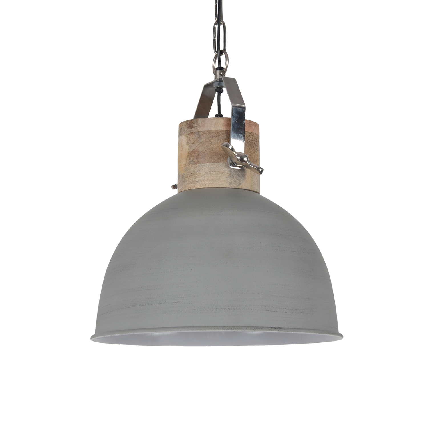 Hanglamp fabriano 40 cm mat licht grijs 6107 pakhuis3 for Collectione lampen