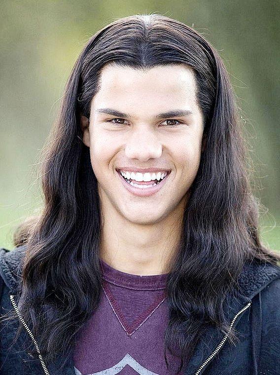 No No No No No Jacob Black Twilight Taylor Lautner Long Hair Taylor Lautner