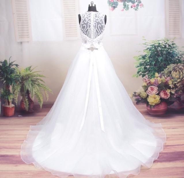 Stunning Embellished Vintage Wedding Dress | Wedding Dress ...