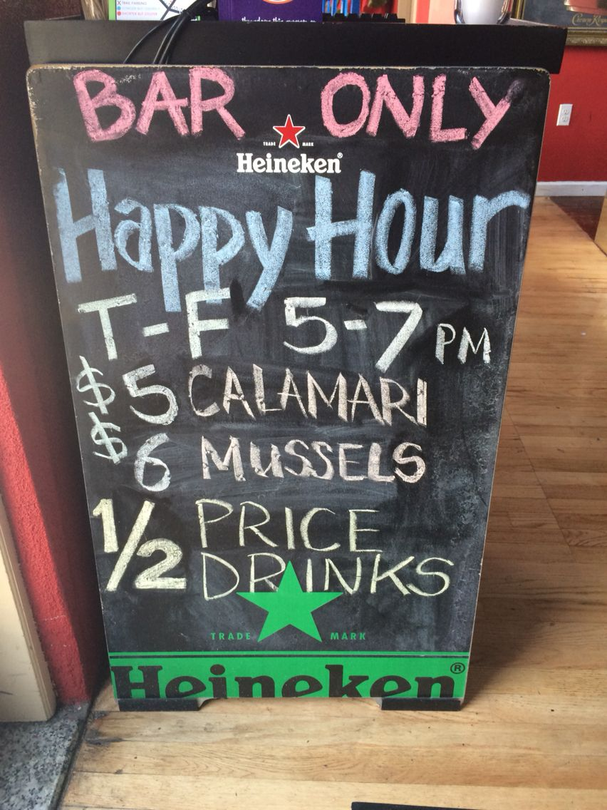 Happy hour 57pm chalkboard quote art art quotes