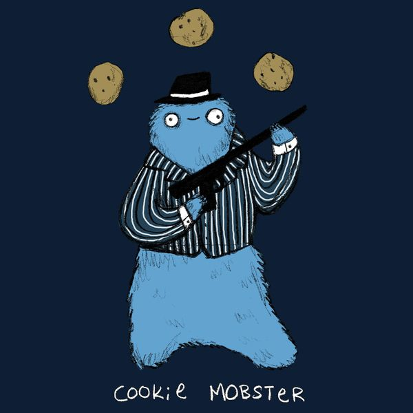 Cookie Mobster - C Is For Chocolate Chip...And Crime - Neatorama