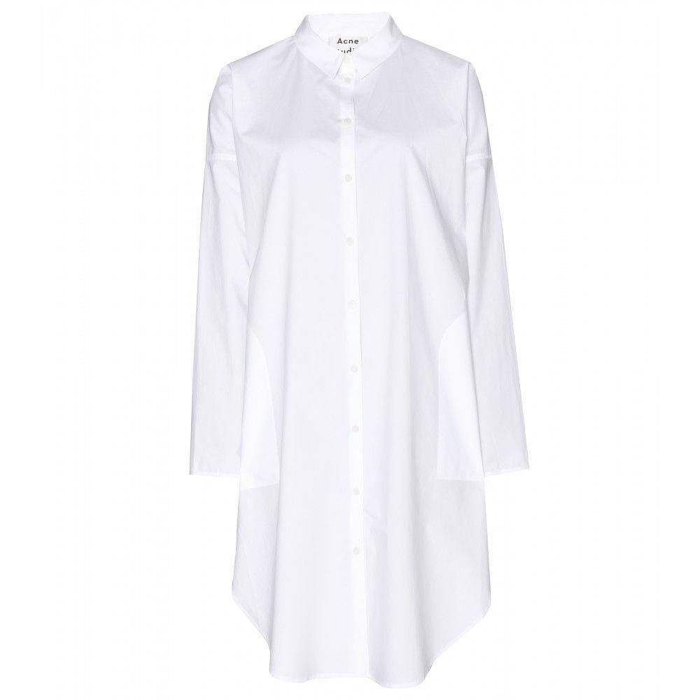 Acne studios lash tech pop shirt dress mytheresa dress