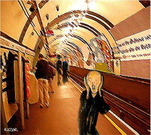 Munchs 'The Tube'