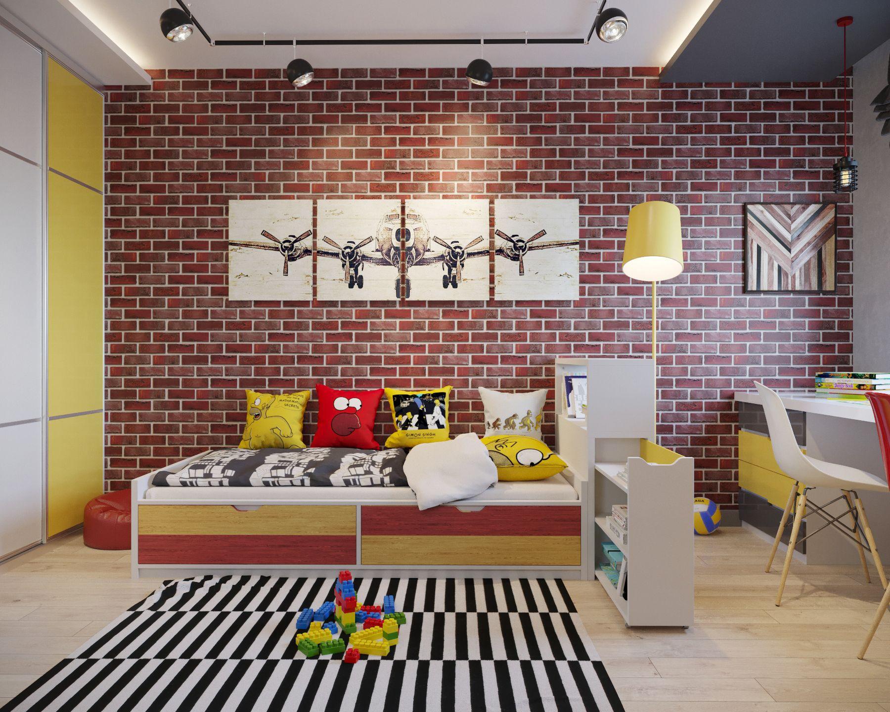 Https Www Behance Net Gallery 55872577 Child Room Com Imagens
