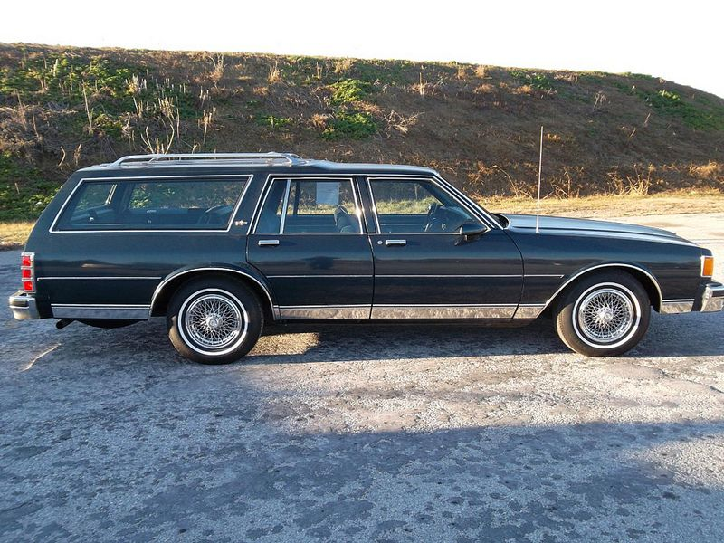 Someday Ill Have Car Like This 1986 Chevrolet Caprice Classic Wagon