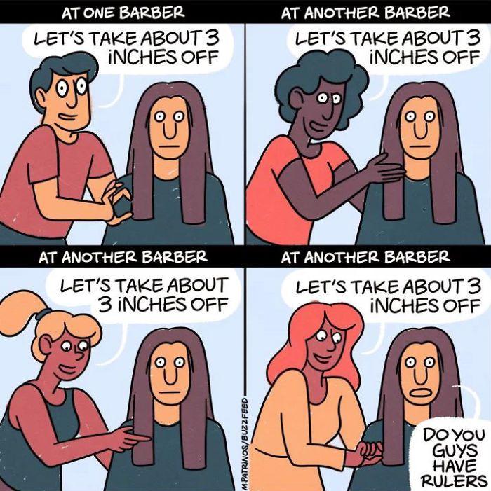 Haircut Girl Meme: Haircut Funny, Funny Memes