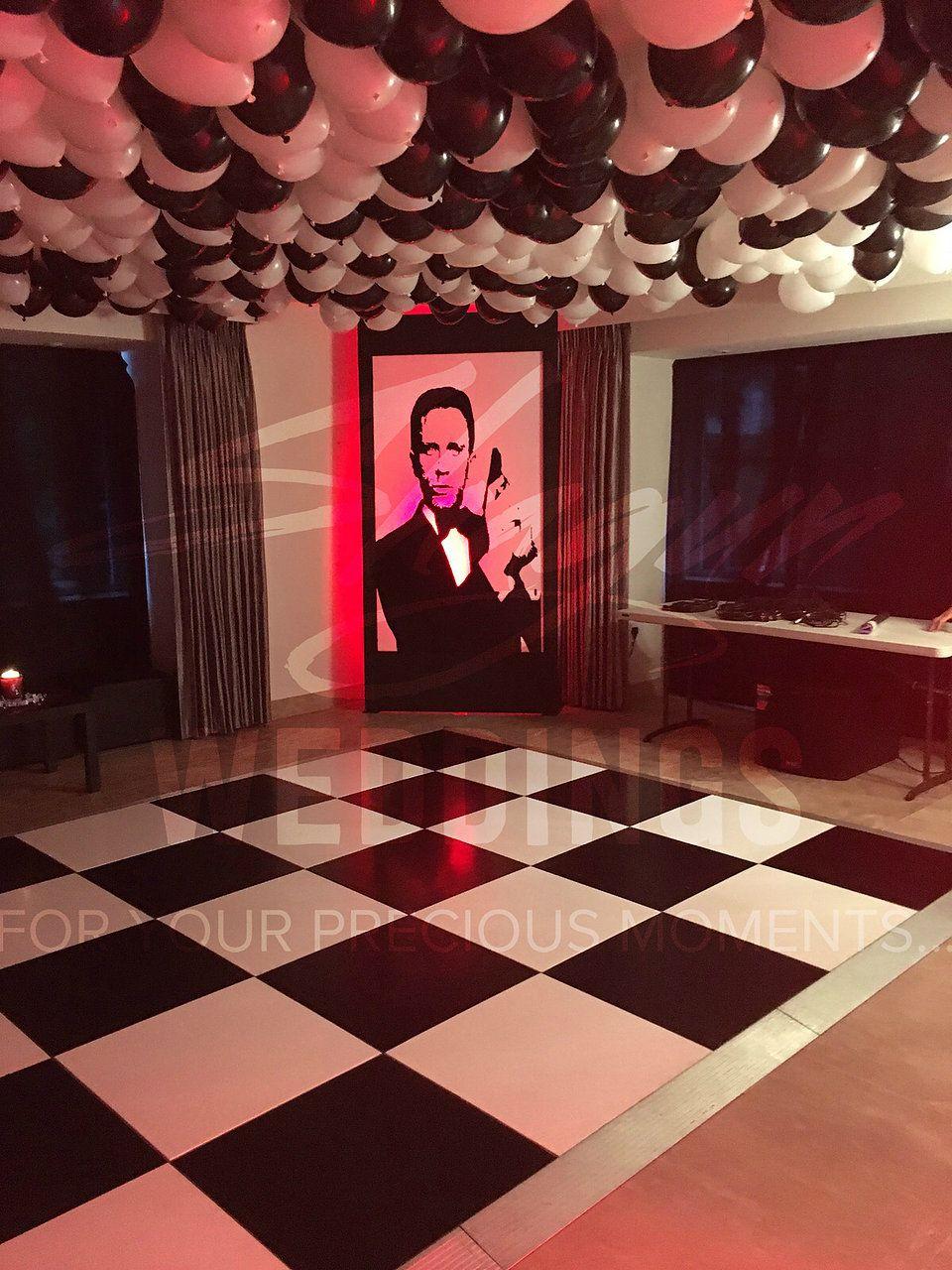 Bespoke themed events including masquerade nights casino royale wild west james bond - James bond deko ...