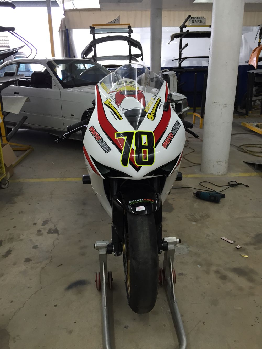 My CBR 1000RR SUPER stock Race bike Racing bikes, Motogp
