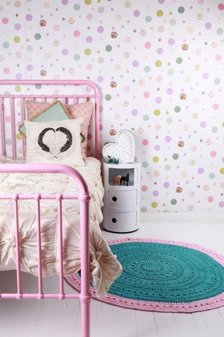 Papier Peint Chambre Petite Fille
