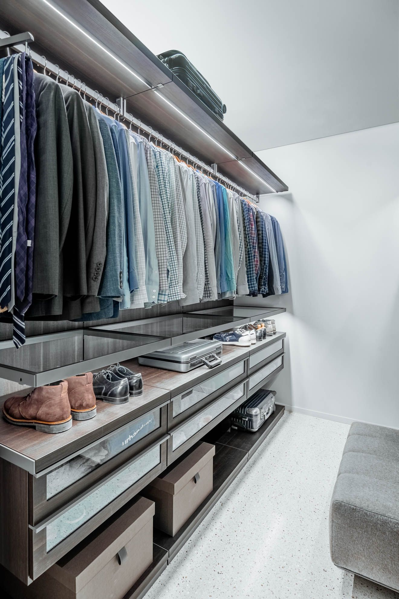 Delightful Poliform Closet | Designed By Projects Contemporary Furniture