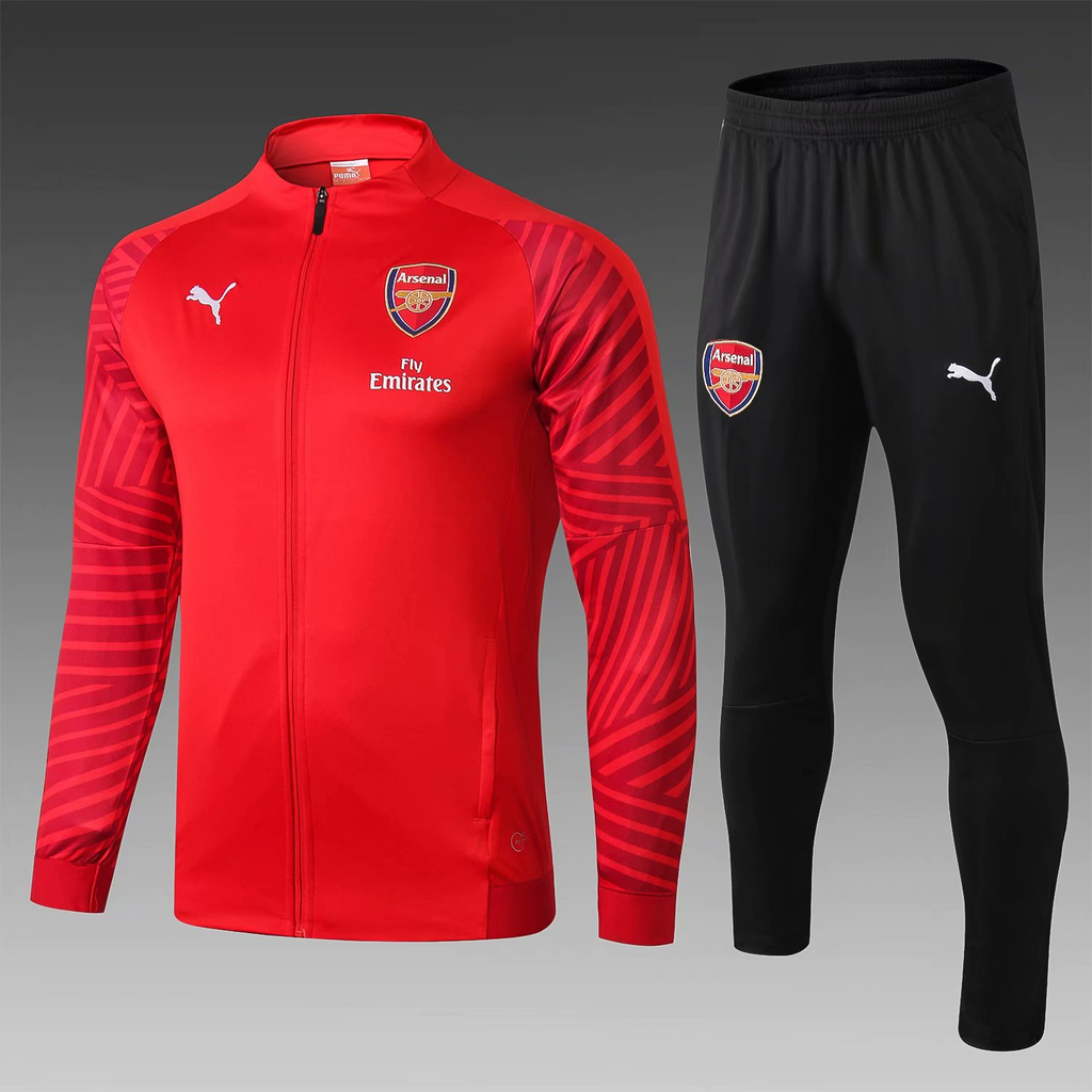 1e0d5dab Arsenal 18/19 Red Men Jacket Tracksuit Slim Fit | Arsenal | Mens ...