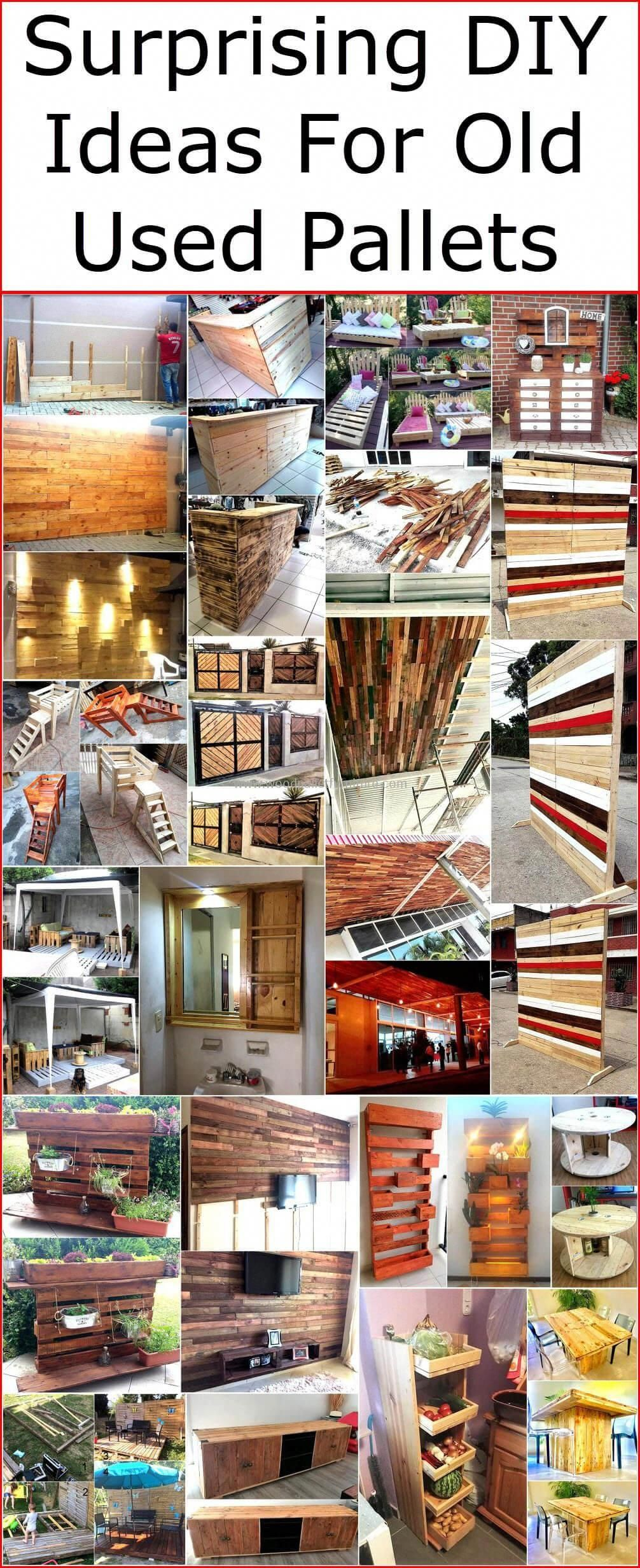 surprising diy ideas for old used pallets in 2020 pallet on extraordinary ideas for old used dumped pallets wood id=13892