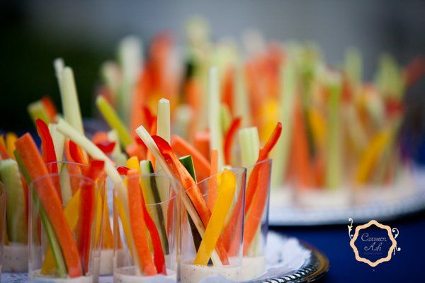 Healthy Wedding Reception Appetizers