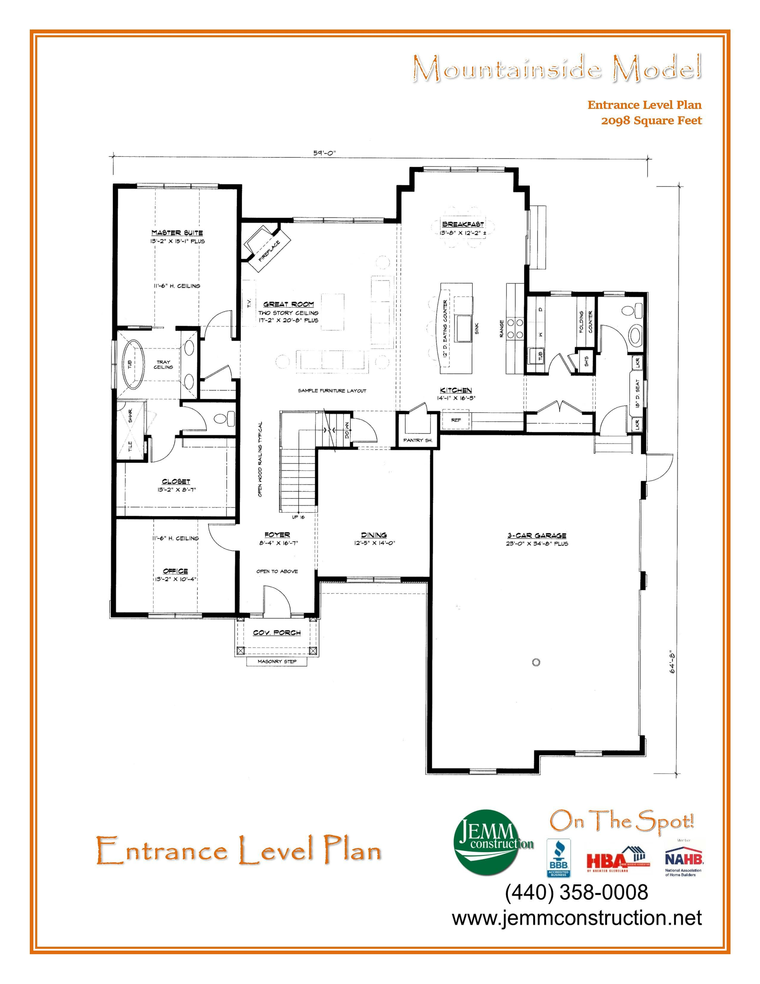 The Mountainside Milan Floor Plans How To Plan New House Plans