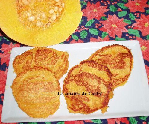 """Ce nom vous dit pas grand chose... C'est un dessert que j'ai découvert dans une revue """"Maxi cuisine"""" du mois de novembre à base de potimaron ou citrouille et que je me suis empressée de tester. C'est très bon, avec une texture entre le pancake et la crêpe...."""