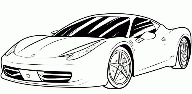 Car Coloring Page Transportation Pages For Kids Printable Free Cars Race Racing Eassume To Print