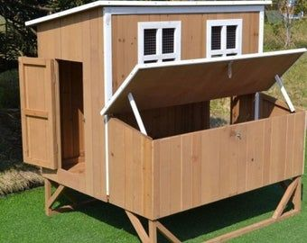 DIY Chicken Coop Plans PDF File Instant Download Imperial Units Feet Inches