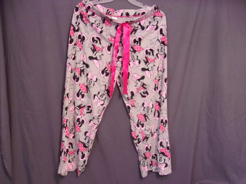 bfb3df1e5c WOMEN S MINNIE MOUSE pajama pants size large 12 -14 100% COTTON!  fashion   clothing  shoes  accessories  womensclothing  intimatessleep (ebay link)