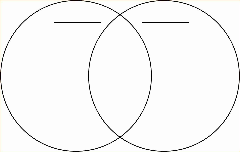 Venn Diagram Template Doc In