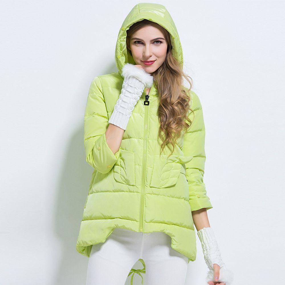 New Arrival Women S Medium Long Design Winter Coat Thin Light Female Three Quarter Sleeve Down Jacket Dro Jackets For Women Winter Coats Women Warm Outerwear [ 1000 x 1000 Pixel ]