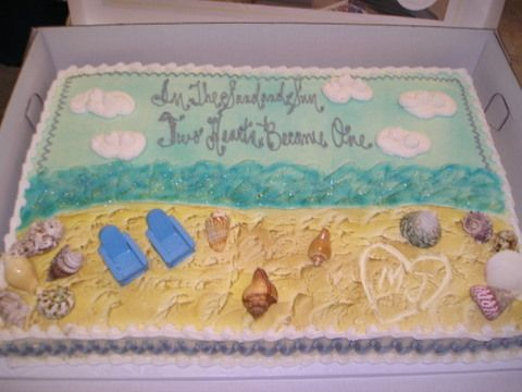 beach bridal showers wedding showers bridal shower cakes cake pictures party cakes