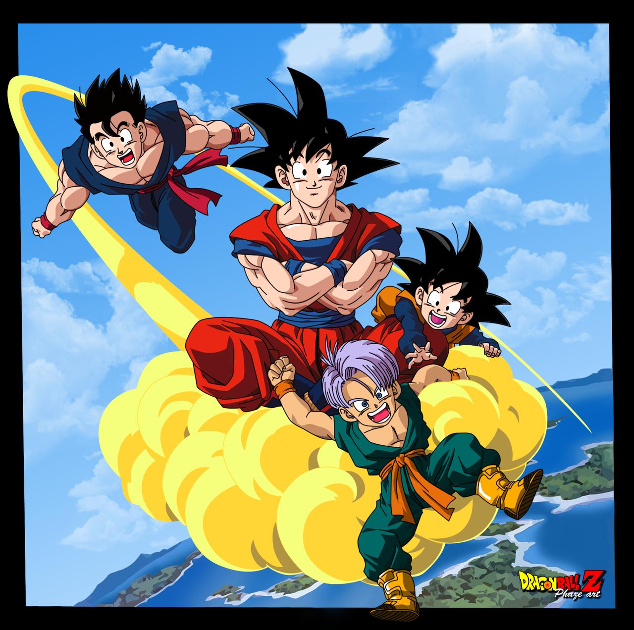Goku Kinton Dragon Ball Dragon Ball Z Dragon Ball Art