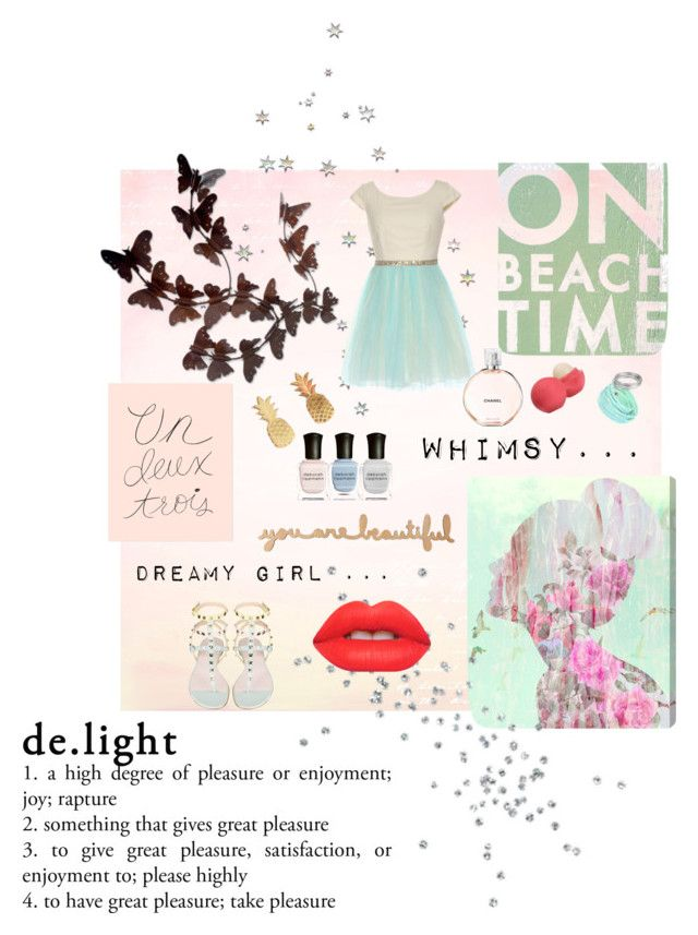 """""""Whimsical dream"""" by sweetcandymaryam ❤ liked on Polyvore"""
