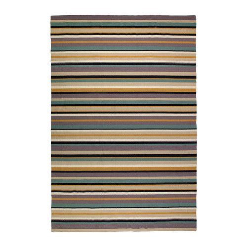 Ikea Striped Rug Runner: Refresh Your Textiles For The Holidays. The Durable, Soil