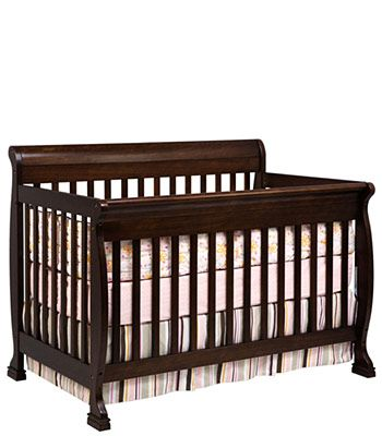 DaVinci Kalani 4-in-1 Crib with Toddler Rail - Espresso - DaVinci ...