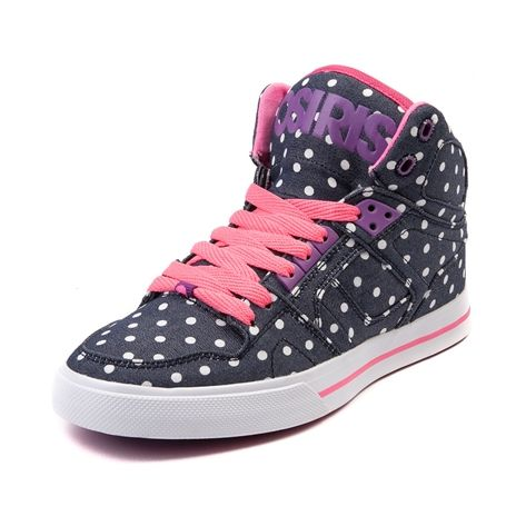 1471869664 Shop for Womens Osiris NYC 83 Vulc Skate Shoe in Blue Denim Dots at Journeys  Shoes. Shop today for the hottest brands in mens shoes and womens shoes at  ...