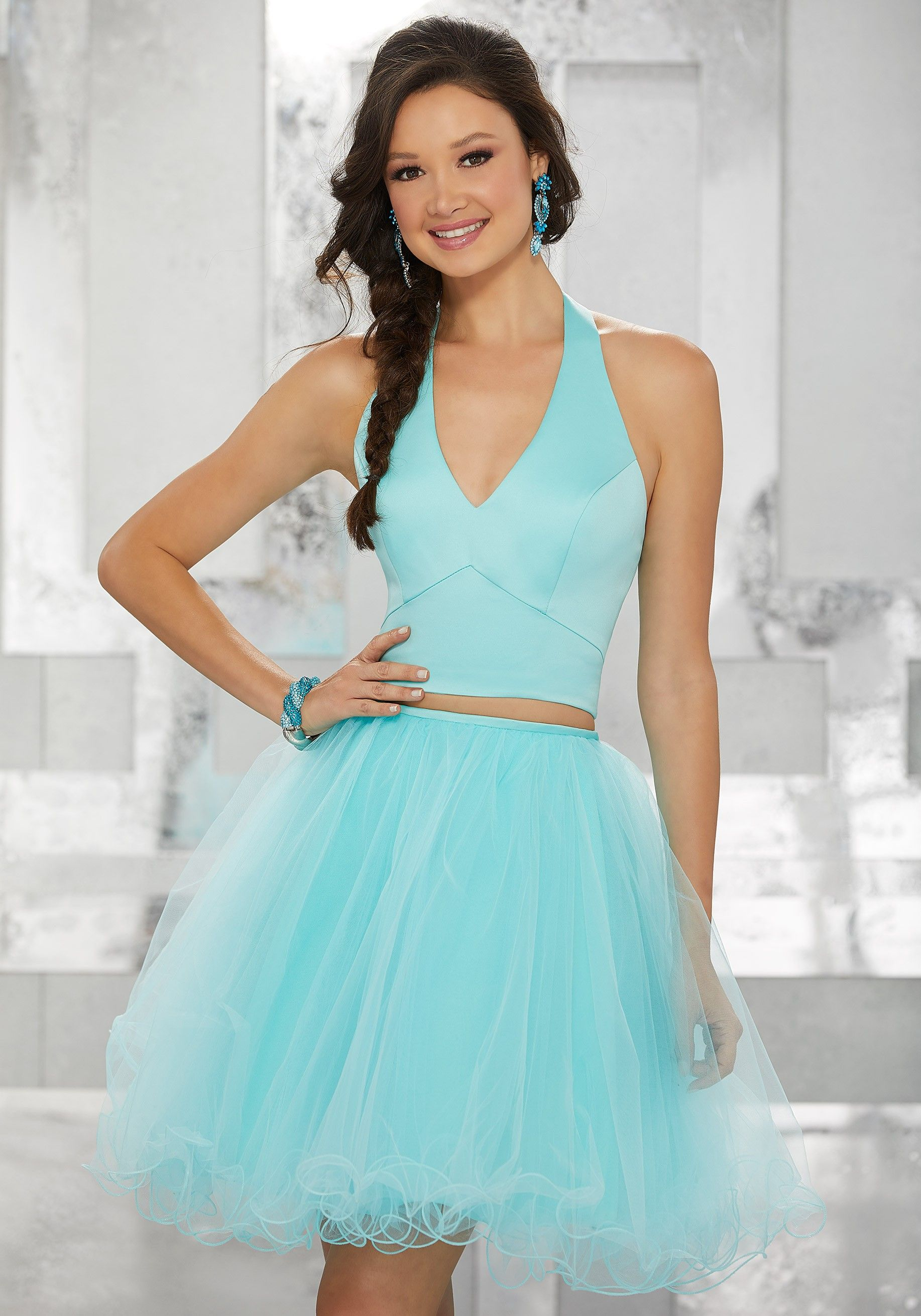 Mori Lee 9458 Short Sweet Party Dress | Mori lee, Tulle skirts and ...