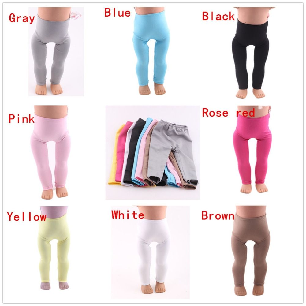 Direct manufacturers, 8 kinds of color Leggings is 18 inch doll clothes accessories! b861-b868 #18inchdollsandclothes