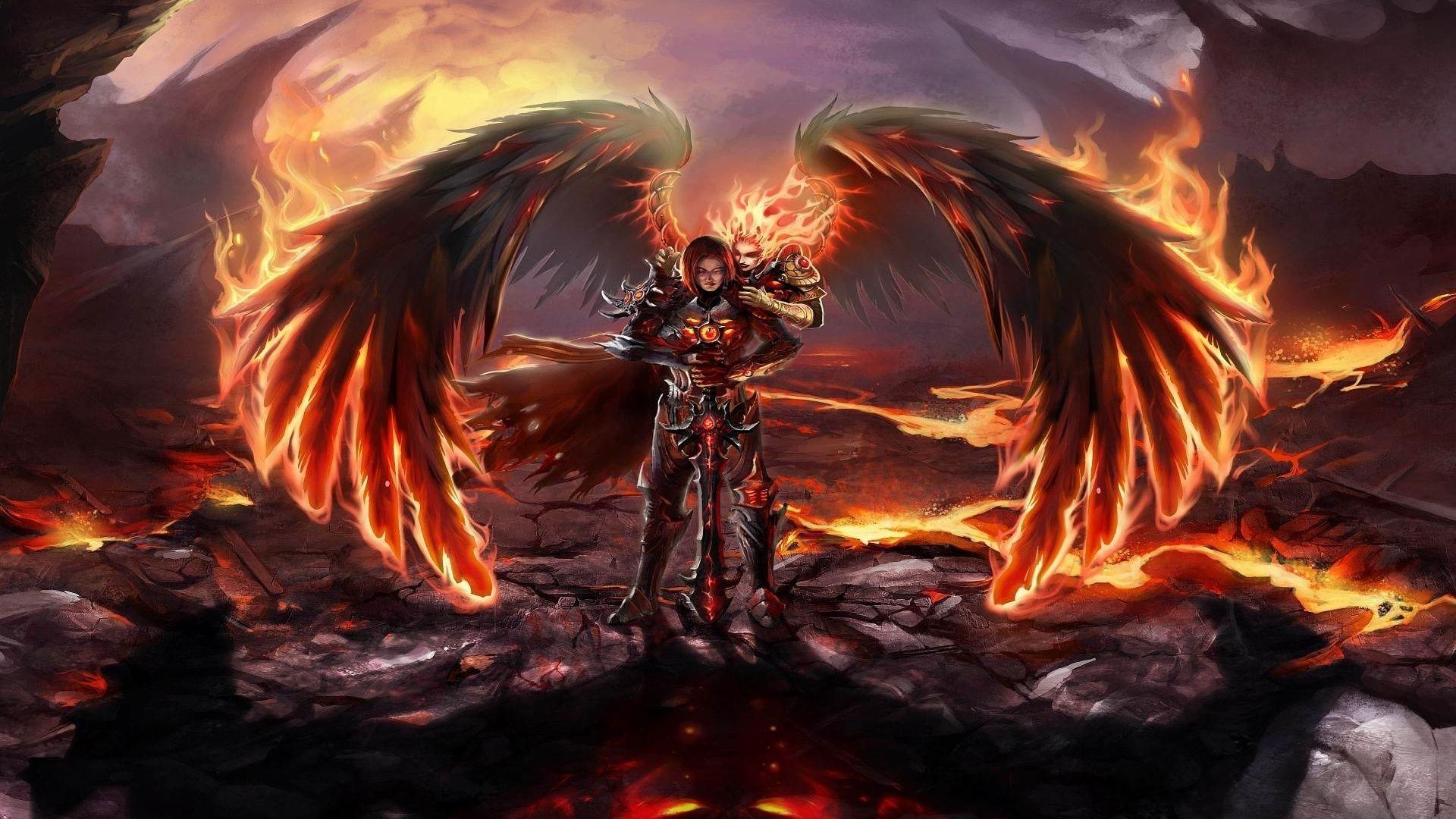 Angel Warrior HD Wallpapers Backgrounds Wallpaper