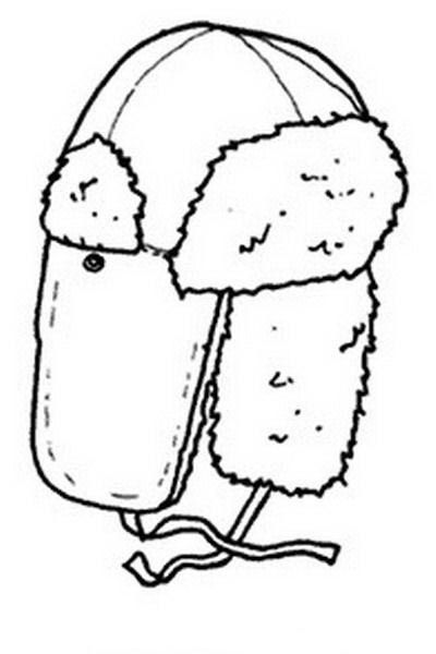 Clothing Coloring Pages 17 | Coloring pages for kids | Pinterest