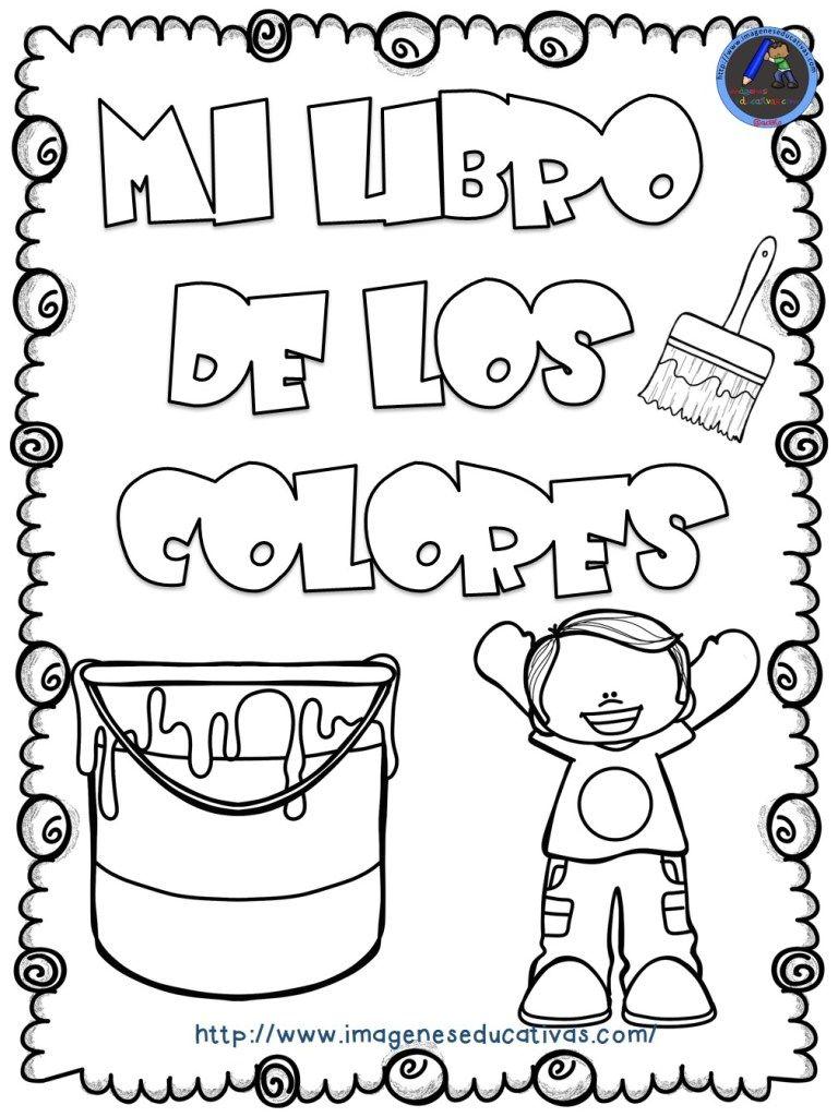 Mi Libro De Los Colores Para Colorear 1 Actividades Preescolar